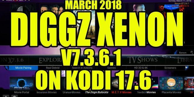 Diggz Xenon Build V7 3 6 1 For Kodi 17 6 From Kodi Geeks Wizard – XC